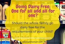 Dairy Free / Food ideas and dairy free recipes. Help and information on maintaining a dairy free diet for your children on medical advice.