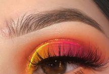 Eyes and make-up
