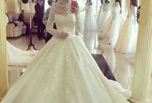 wedding dress muslimah
