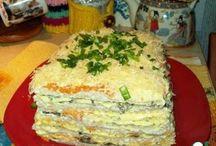 слоёный тортик