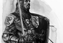 Character inspiration for RPG / Warrior Paladin Knight Gladiator Fighter Barbarian