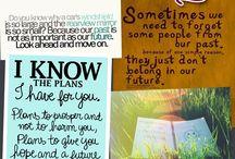 bible verses. <3 / by Alex Rigney