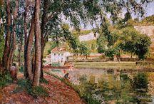 Jacob Abraham Camille Pissarro (1830 - 1903 ) Pintor / Movimento estético: Impressionismo