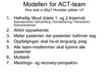 ACT & FACT