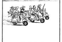 New Yorker cartoons / kinda funny cartoons