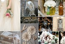 Wedding Inspiration Boards / Remember how much fun it was to make collages as a kid? Now you can do it electronically with Inspiration boards. Here are some great ideas to get you started on your wedding ideas.