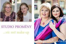 PROMĚNY IMAGE / Chcete se nechat proměnit s kadeřnicí a vizážistkou? Více info o proměnách www.pinkladies.wbs.cz