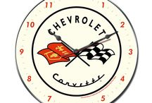 Metal Wall Clocks / We not only sell signs and wall art, we also make clocks.  We have a variety of shapes, styles and themes.  All clocks need AA batteries (which are not included).  Buy direct from us for savings on Vintage Retro Metal Signs, Clocks, Thermometers, & Canvas Prints. We hand make our products in the USA using American Steel!