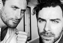 Dean O'Gorman And Aidan Turner