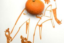 Creative Drawings Using Everyday Objects
