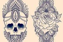 Ink skin
