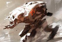 Speedpaintings / or plein air paintings :D