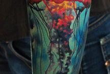 jellyfish tattoo