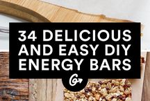 Healthy Home made energy bars