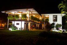 Mi Lindo HOSTAL HACIENDA BOMBAY / Las mejores experiencias de viaje en el eje cafetero colombiano se viven en este lindo Hostal
