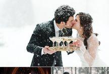 свадьба зима