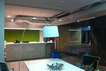 Moje projekty - wnętrza biurowe