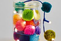 Pom poms & weaving obsession