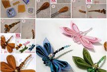 Beautiful bugaboos / butterflies, dragonflies and such