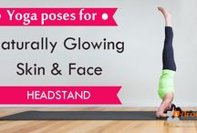 Yoga poses for Naturally Glowing Skin
