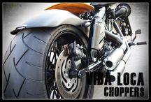 """Dyna Harley """"Mat 260"""" by Vida Loca Choppers / Dyna Harley Mat 260 Designed by Vida Loca Choppers in 2014"""