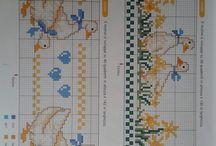Σχέδια με σταυροβελονιά