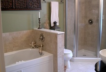 bathroom renos / by Amber Leblanc-Jacquard