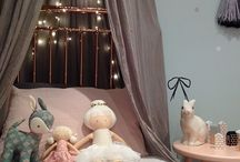 Princess bed canopy with lights