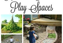Outdoor natural play areas
