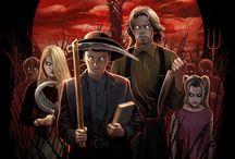 Stephen King Art / by David Leggett