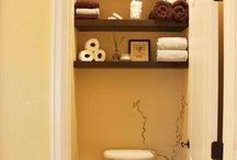 Bathroom ideas / by Laura Brewer