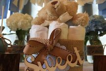 Vintage Baby Shower Boy Ideas / Beautifully Vintage-Themed Baby Shower Idea for a Boy.