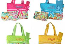 Diaper Bags / These bags have a universal use. Some people use them for their infants diapers and others use them as a shoulder tote.