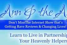 """Ann & the Angels - Internet TV! / For nearly two decades popular Spiritual Instructor, Angel Communicator, and Modern Mystic, Ann Albers has helped thousands of individuals connect with their angels and transform their lives. In our weekly series, """"Ann & the Angels"""" she takes you on a step-by-step journey, teaching you to live in partnership with your own heavenly helpers!  Each series is 12 episodes & covers an entire topic in-depth. • Info:  www.visionsofheaven.com"""