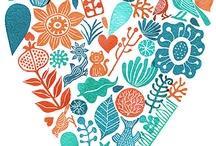 DISEÑO, DIBUJO Y COLOR / Diseños y dibujos coloreados que inspiran...