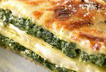 Recettes / Lasagne épinards ricotta