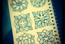 traditional tattoo flowers