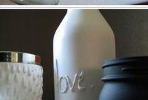 Flaschen basteln
