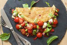 . omelet/æggekage/frittata