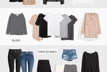 Guarda-roupa em cápsula