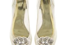 Perfect Garden Wedding with Freya Rose Shoes / Ideal bridal shoes for a garden wedding.