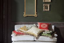 Inspiration: Silk Velvet / We're huge fans of the texture and velvet SS17 trend, with much of our furniture covered in opulent fabrics bringing a touch of luxury to your interior as well as luxurious comfort. Complement the silk velvet look with a bold jewel tone colour palette like emerald and ruby to duck egg blue.