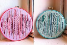 Embroidery things