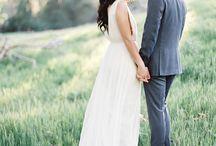 Fine Art Engagement Shoot Inspiration / Fine Art Wedding Photography Inspiration. Engagement Session using Fuji 400h Film.