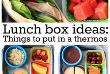Easy Lunch Box Ideas! / All things lunch!