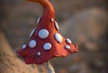 pieniä sieviä sieniä
