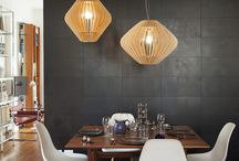 havlamps / wood lamps