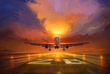 Sunset & Planes