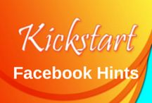 Facebook Hints / Kickstart Creative Works - Okanagan Valley Hints for handling and promoting your Business Facebook Page.
