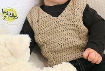 Ropa bebe y niños tejida